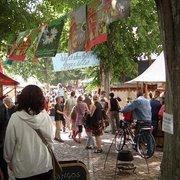 Lindenblütenfest in den Franckeschen Stiftungen, Halle (Saale), Sachsen-Anhalt, Germany