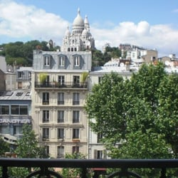 View from my room at Le Regent Monmartre
