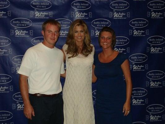 Kathy Ireland family