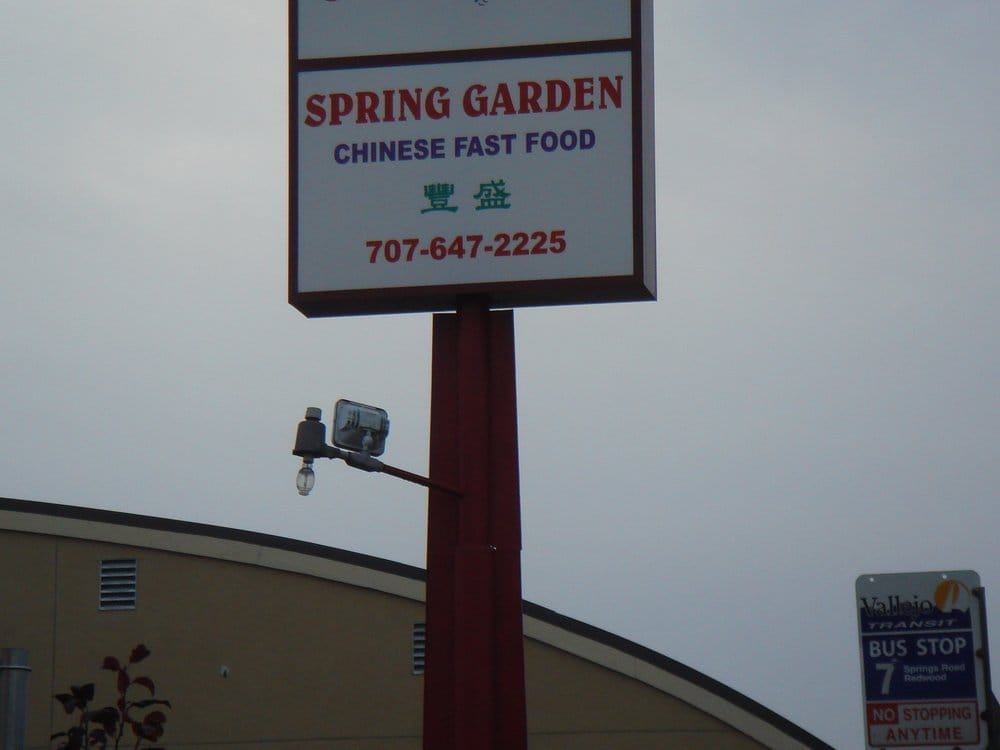 Spring Garden Closed Chinese Restaurants Vallejo Ca United States Reviews Photos Yelp