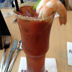 Anthony's Restaurant and Fish Bar - Deluxe Bloody Mary - Seattle, WA, United States