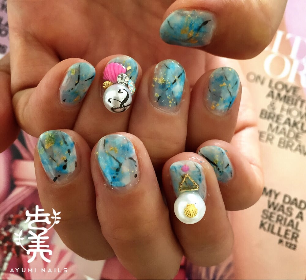 Japanese nail art dc – Great photo blog about manicure 2017