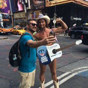 Naked Cowboy Stock Photos and Pictures | Getty Images
