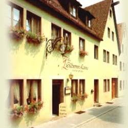 Gasthaus Zur silbernen Kanne, Rothenburg, Bayern