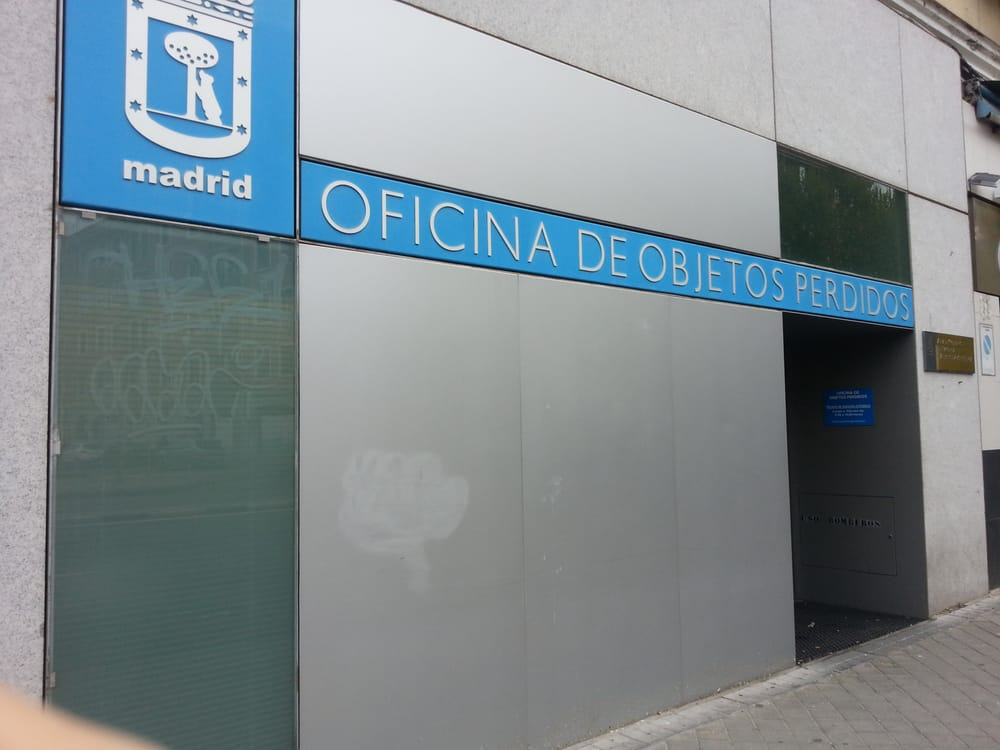 Oficina de objetos perdidos government public services for Oficinas de ups en madrid