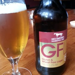 Love this gluten free lager!
