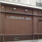 L'Urgence Bar - Paris, France. L''Urgence Bar