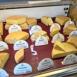 Ein Teil der Käsetheke