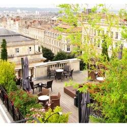 Les bains de l a bordeaux france la terrasse avec une - Les bains de lea bordeaux ...