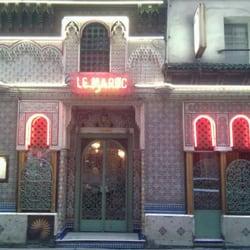 Restaurant Le Maroc, Paris