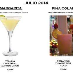 Margarita y Piña Colada, promoción de…