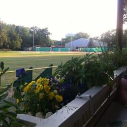Aussicht über den Sportplatz