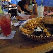 Avocado Burger + Jumbo Cocktail ,065L
