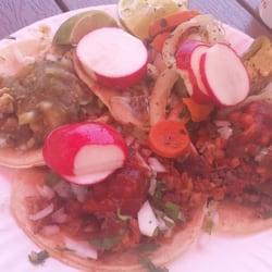 Tacos Mexico - Al pastor, carnitas, beef and chicken tacos - Los Angeles, CA, Vereinigte Staaten