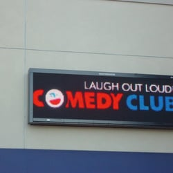 located in the laugh out loud comedy club
