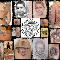The Dragons Den Tattoo Studio, South Shore, Blackpool