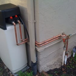 North Cal Water - outside install, one piece softener - Fremont, CA, Vereinigte Staaten