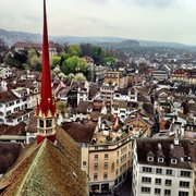 Grossmünster, Zurich, Zürich, Switzerland