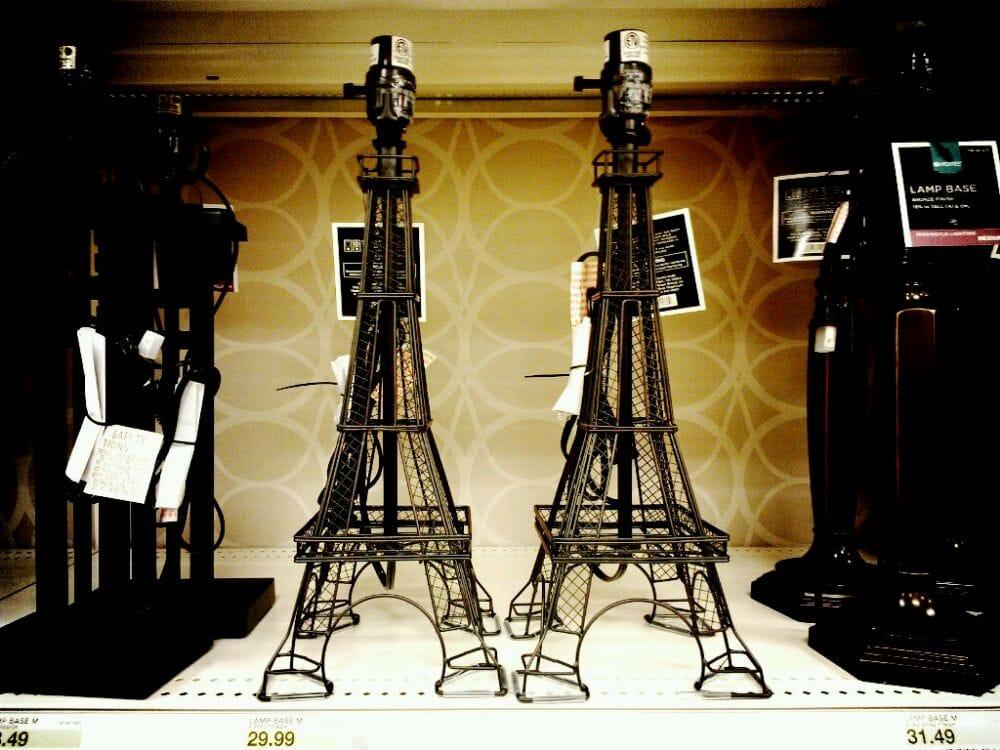 target austin tx united states eiffel tower lamp base. Black Bedroom Furniture Sets. Home Design Ideas