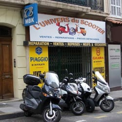 L univers du scooter motorcycle repair castellane for Garage top car marseille