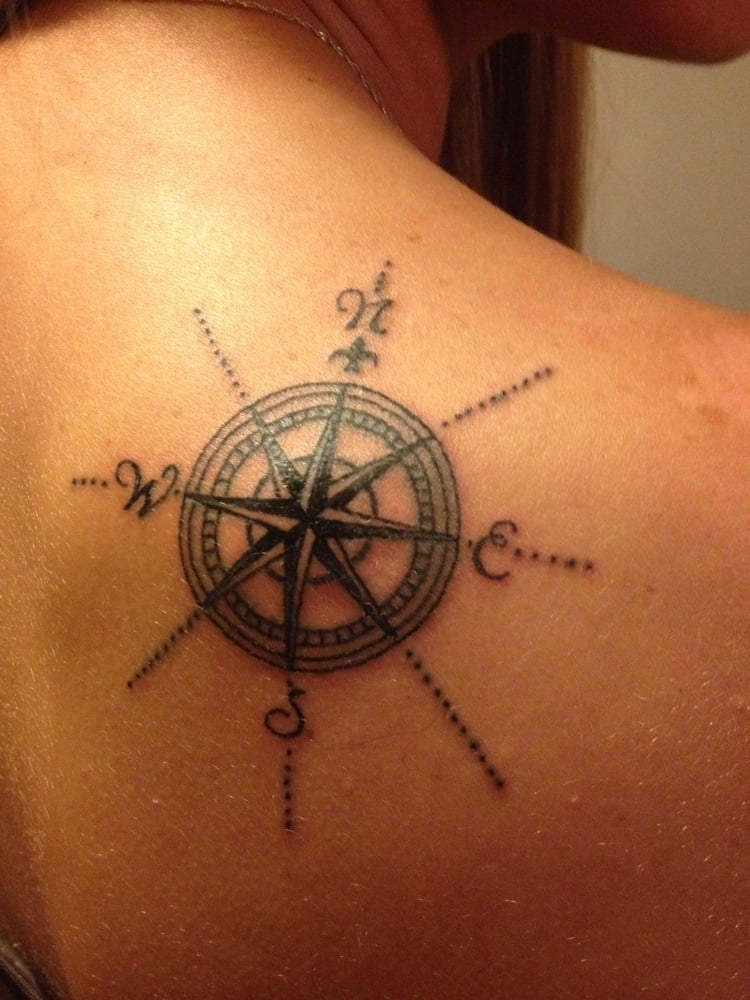 Nautical compass in me...