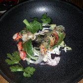 Norwegian King crab with coconut and lime