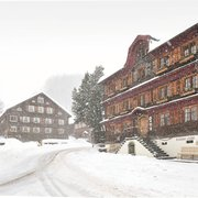 Hotelansicht Winter