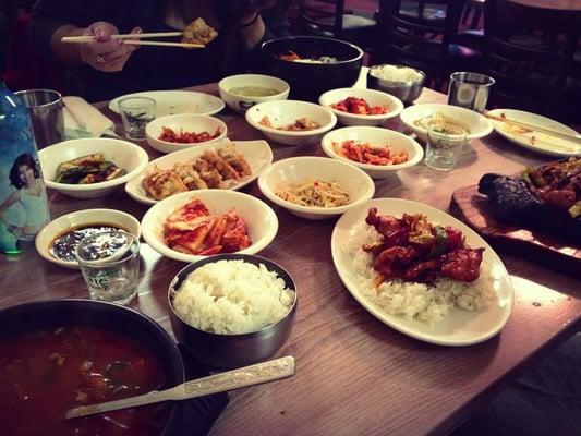 Seoul garden korean restaurant korean cuyahoga falls oh reviews photos yelp for Chen s garden cuyahoga falls oh