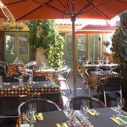 Terrasse restaurant Le Prieuré