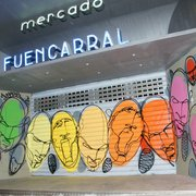 Entrada Mercado de Fuencarral