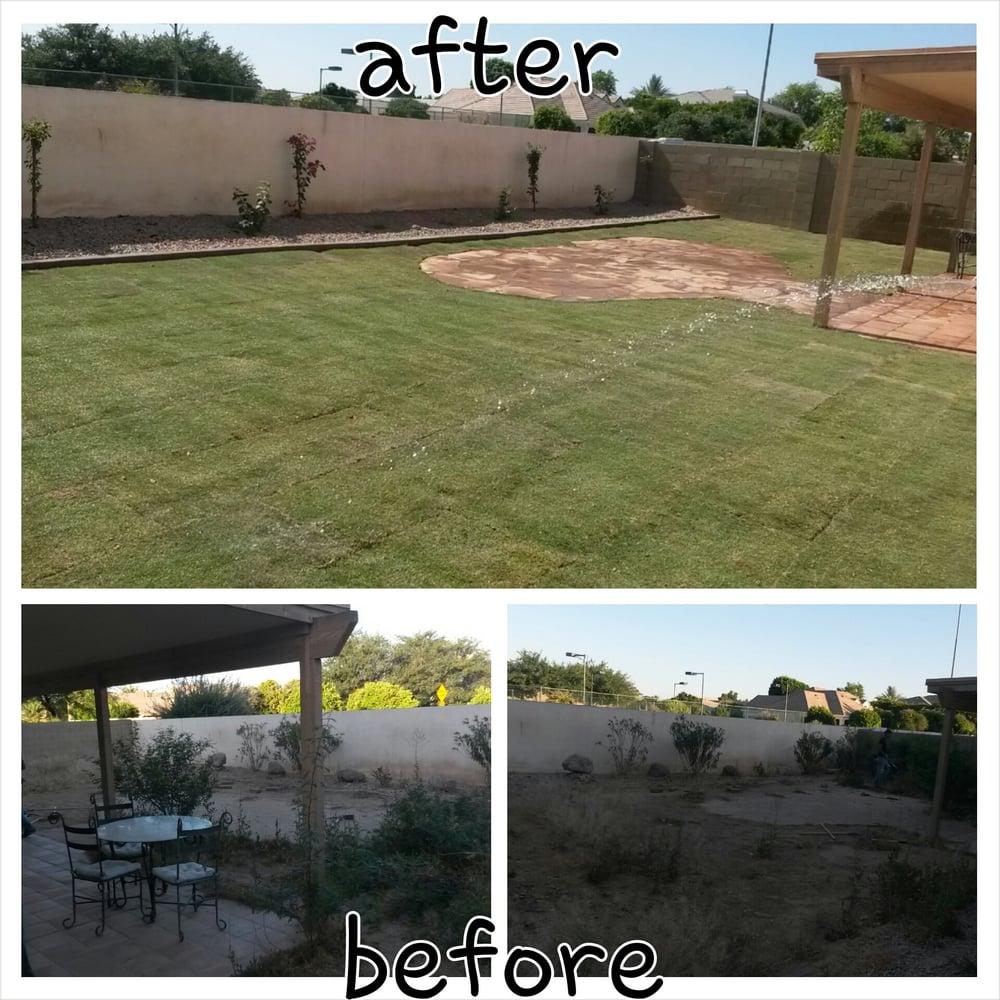 Slade landscape maintenance inc gardeners mesa az yelp for Mesa landscape architects