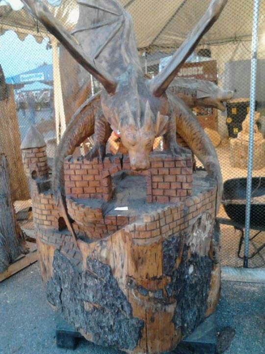 Awesome wood carving yelp