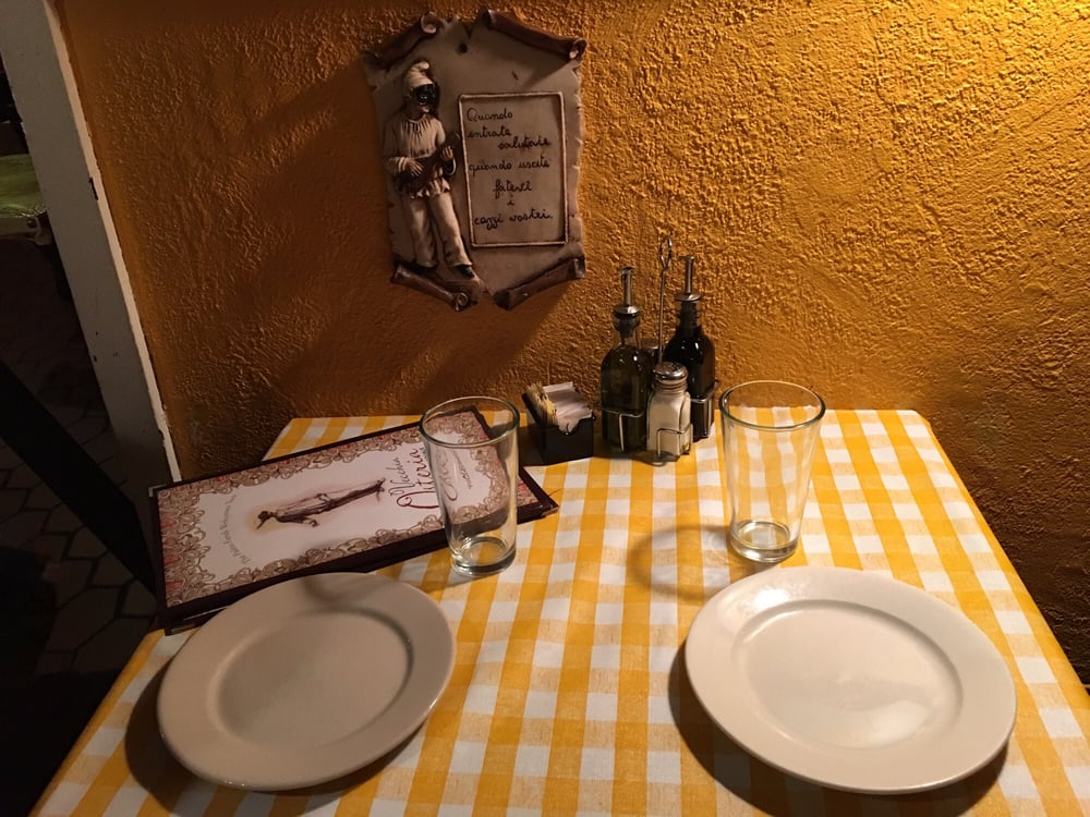 Our quaint table for two march 2016 yelp for Table 9 newtown