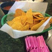 Cancun Mexican Restaurant - Salsa is spicy! But very good! - Port Aransas, TX, Vereinigte Staaten
