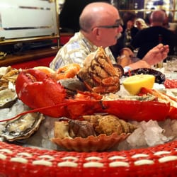 Fruit de mer platter (for 1?!)