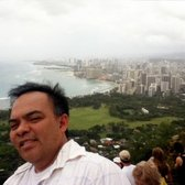 Diamond Head State Monument - I reached the top! - Honolulu, HI, Vereinigte Staaten