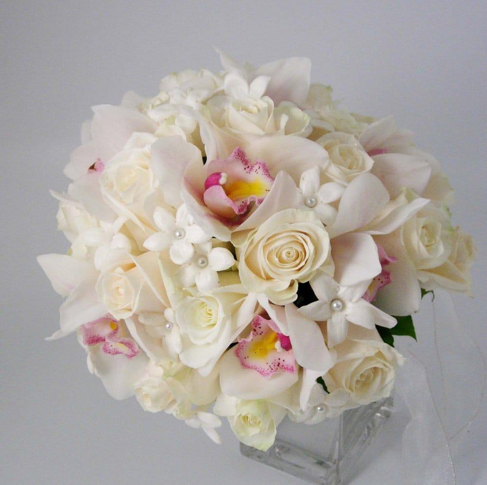 Cymbidium Orchids Bouquet Bridal Bouquet of Cymbidium
