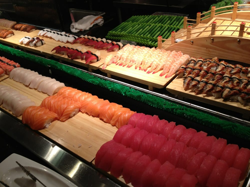 More raw fish and delicious stuff yelp for Fish buffet near me
