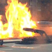 Die Burger in Flamme :D