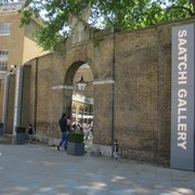 entrance to Saatchi Gallery