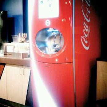 multi flavor soda machine