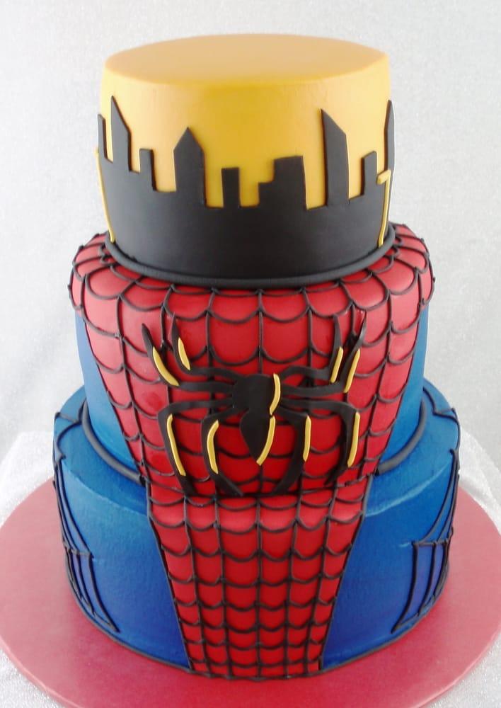 Spiderman Birthday Cake Near Me