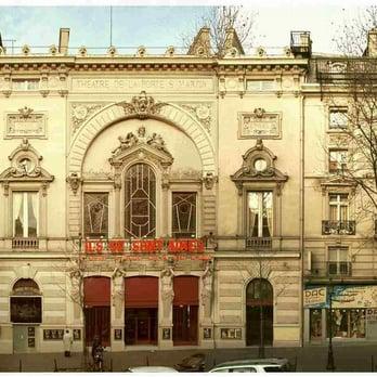 Th tre de la porte saint martin spectacle r publique - Theatre de la porte saint martin plan ...