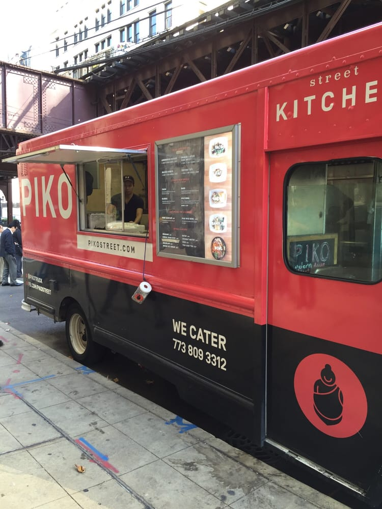 Piko Street Kitchen - Chicago, IL, United States. Food Truck at the corner of Wabash and Jackson
