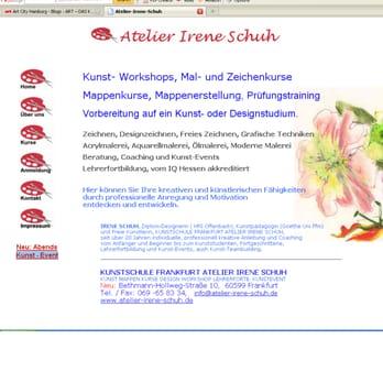 Atelier irene schuh kunstakademie oberrad frankfurt for Mappenkurs frankfurt