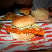 The best chicken burger I've ever had...…