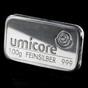 100g silver bullion bars available…