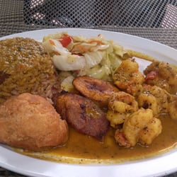 Ackee bamboo jamaican cuisine curry stew shrimp with for Ackee bamboo jamaican cuisine los angeles ca
