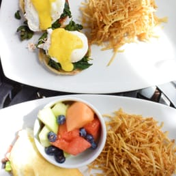 The Novel Omelette & Egg Benedict