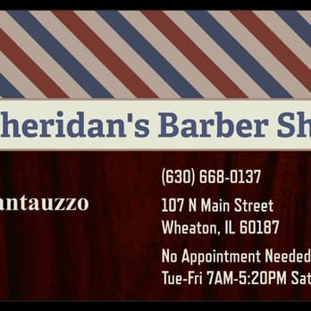 sheridan s barber shop 12 photos barbers wheaton il reviews yelp. Black Bedroom Furniture Sets. Home Design Ideas